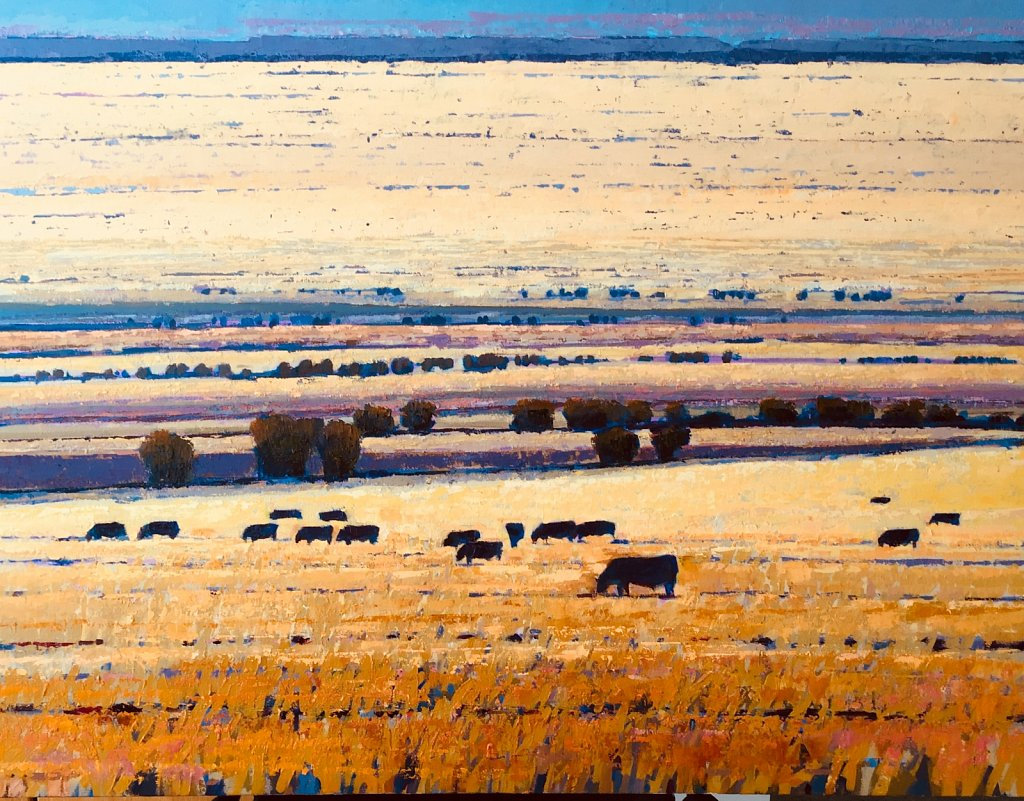 Cows in the Landscape